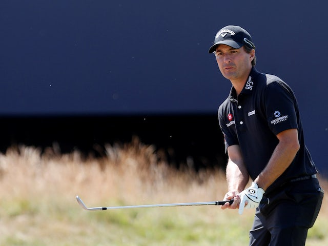 Kevin Kisner in action at The Open on July 19, 2018