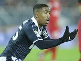 Malcom in action for Bordeaux on January 24, 2017