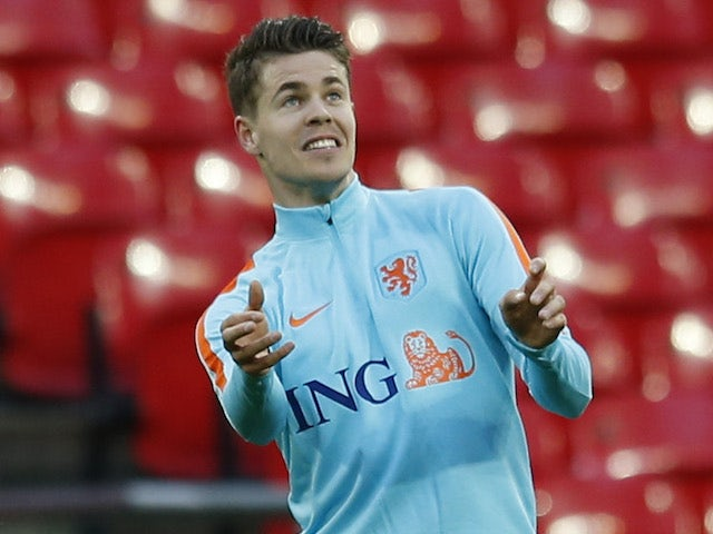 Marco van Ginkel during a Netherlands training session in March 2016