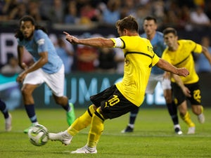Man City lose to Dortmund in Chicago
