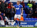 Ipswich Town's Martyn Waghorn celebrates scoring on April 2, 2018