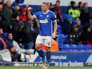 Derby County win race for Martyn Waghorn