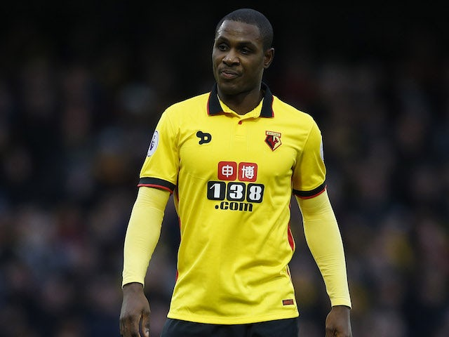 Report: Watford keen on re-signing Odion Ighalo