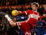 Patrick Bamford in action for Middlesbrough on February 20, 2018