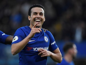 Pedro in action for Chelsea on December 30, 2017