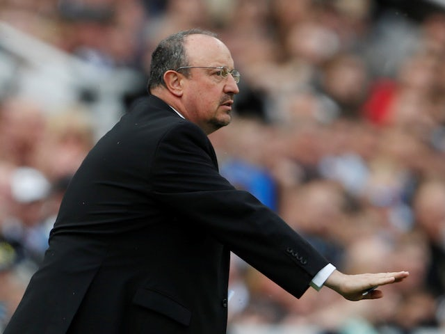 Rafael Benitez in charge of Newcastle United on May 13, 2018