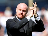 Burnley manager Sean Dyche on May 13, 2018