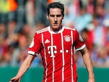Sebastian Rudy in action for Bayern Munich on August 13, 2017