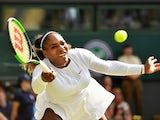 Serena Williams in action during the Wimbledon final on July 14, 2018