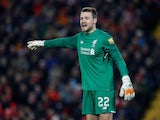 Simon Mignolet in action for Liverpool in the FA Cup on January 27, 2018