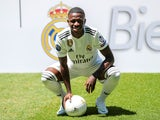 Real Madrid unveil Vinicius Junior on July 20, 2018