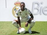 Real Madrid unveil Vinicius Junior on July 20, 2018