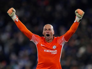 Willy Caballero in action for Chelsea in the FA Cup on March 18, 2018