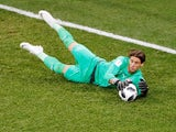 Switzerland goalkeeper Yann Sommer in action during the World Cup group game with Costa Rica in June 2018
