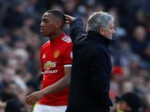 Jose Mourinho explains Martial selection