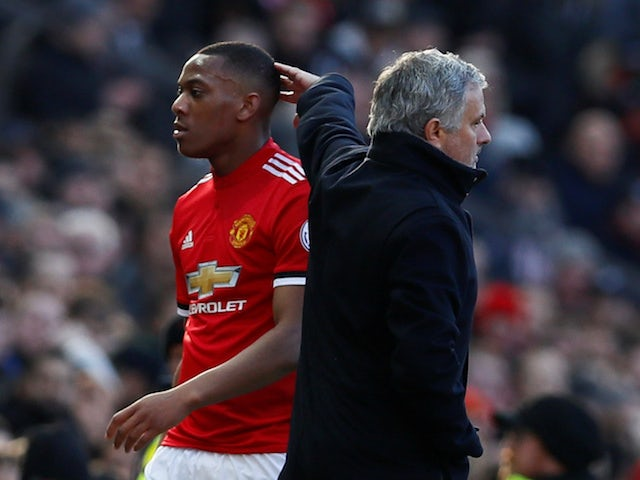Jose Mourinho explains Martial selection
