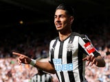 Ayoze Perez in action for Newcastle United on May 13, 2018
