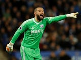 West Bromwich Albion's Boaz Myhill on October 16, 2017