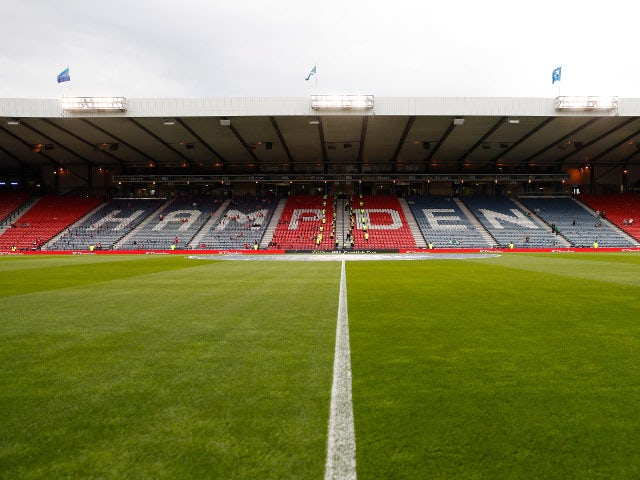 Scottish Cup final set to be played behind closed doors