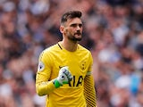 Hugo Lloris in action for Tottenham Hotspur during the 2018-19 season