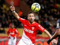 Joao Moutinho in action for Monaco on January 16, 2018