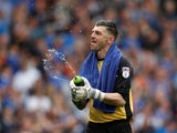 Sheffield Wednesday's Keiren Westwood on September 24, 2017