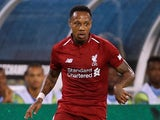 Liverpool full-back Nathaniel Clyne in action for his side during their pre-season win over Manchester City in New Jersey