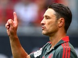 Niko Kovac prowls the touchline during Bayern Munich's pre-season friendly against Paris Saint-Germain