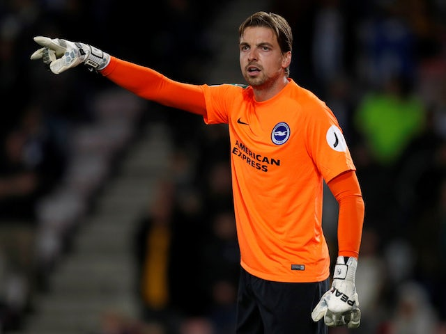 Tim Krul signs new three-year Norwich deal after promotion