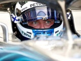 Mercedes's Valtteri Bottas during practice for the Hungarian Grand Prix on July 27, 2018