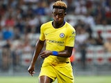 Callum Hudson-Odoi in action for Chelsea in pre-season on July 29, 2018