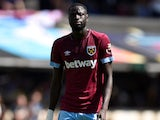 Cheikhou Kouyate in action for West Ham United in a pre-season friendly on July 29, 2018
