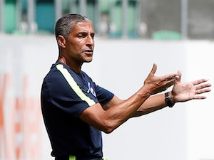Brighton & Hove Albion manager Chris Hughton pictured on July 14, 2018