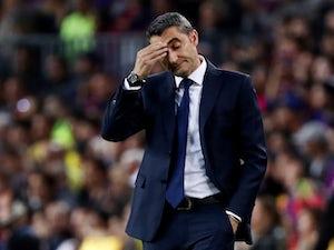 Valverde: 'Hopefully Barcelona will improve'