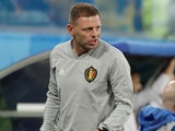 Belgium assistant Graeme Jones pictured at the World Cup on July 10, 2018