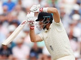 Joe Root in action during the first day of the second Test between England and India on August 1, 2018
