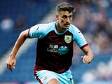 Matt Lowton in action for Burnley on July 23, 2018