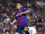 Munir El Haddadi in action for Barcelona in pre-season on July 28, 2018