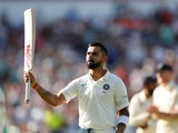 Virat Kohli during the second day of the second Test between England and India on August 2, 2018