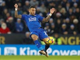 Danny Simpson in action for Leicester City on December 23, 2017