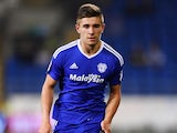 Declan John in action for Cardiff City in August 2016