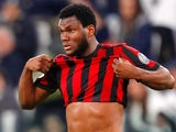 Franck Kessie in action for AC Milan on March 31, 2018