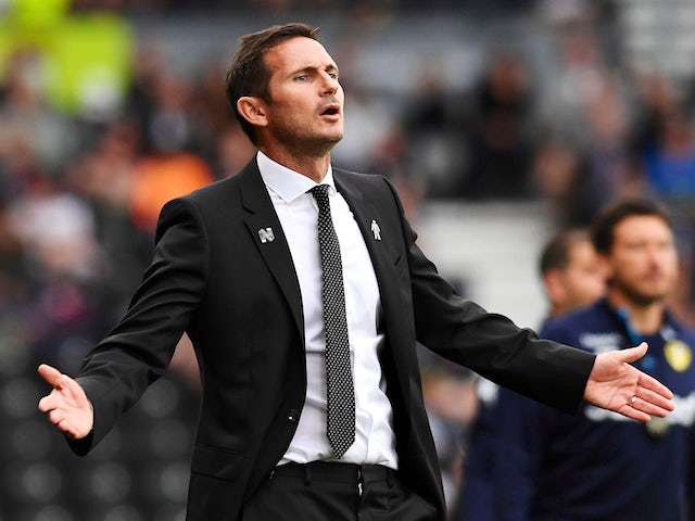 Lampard: 'A cup run would be good for Derby'