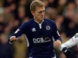 George Saville in action for Millwall on November 25, 2017