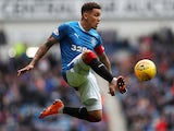 James Tavernier in action for Rangers on May 5, 2018