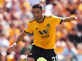 Joao Moutinho in action for Wolverhampton Wanderers on August 4, 2018