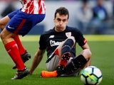 Kepa Arrizabalaga in action for Athletic Bilbao on February 18, 2018