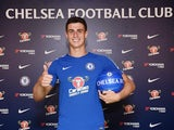 Kepa Arrizabalaga signs for Chelsea on August 8, 2018