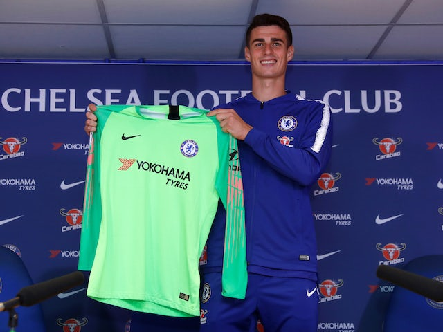 best sneakers 7b949 fcc87 Team News: Kepa Arrizabalaga begins in goal for Chelsea ...