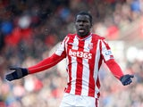 Kurt Zouma in action for Stoke City on March 17, 2018